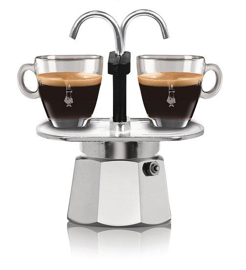 Espressokanne Mini Express Silber 2 Tassen