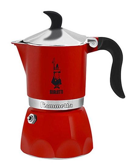 Espressokanne Fiammetta Fluo helles Rot 3 Tassen
