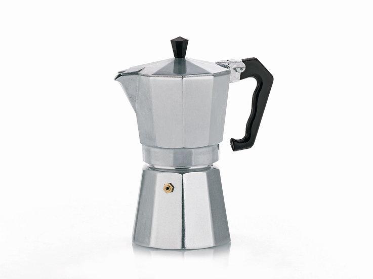 Kela Espressokanne Italia Silber 150ml