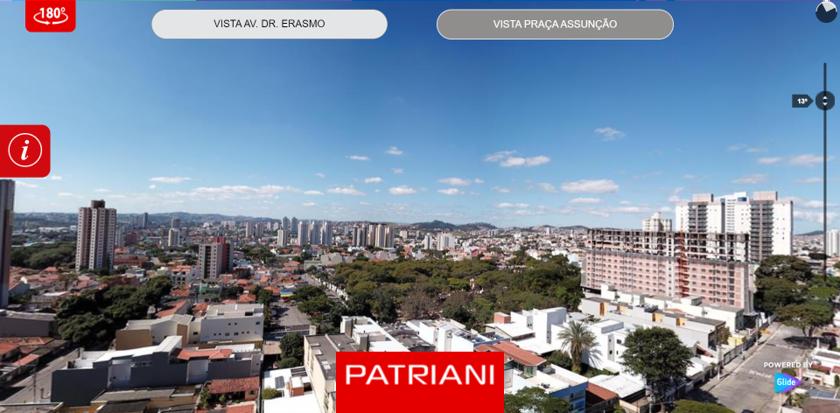 Plataforma 360 - Vista dos andares