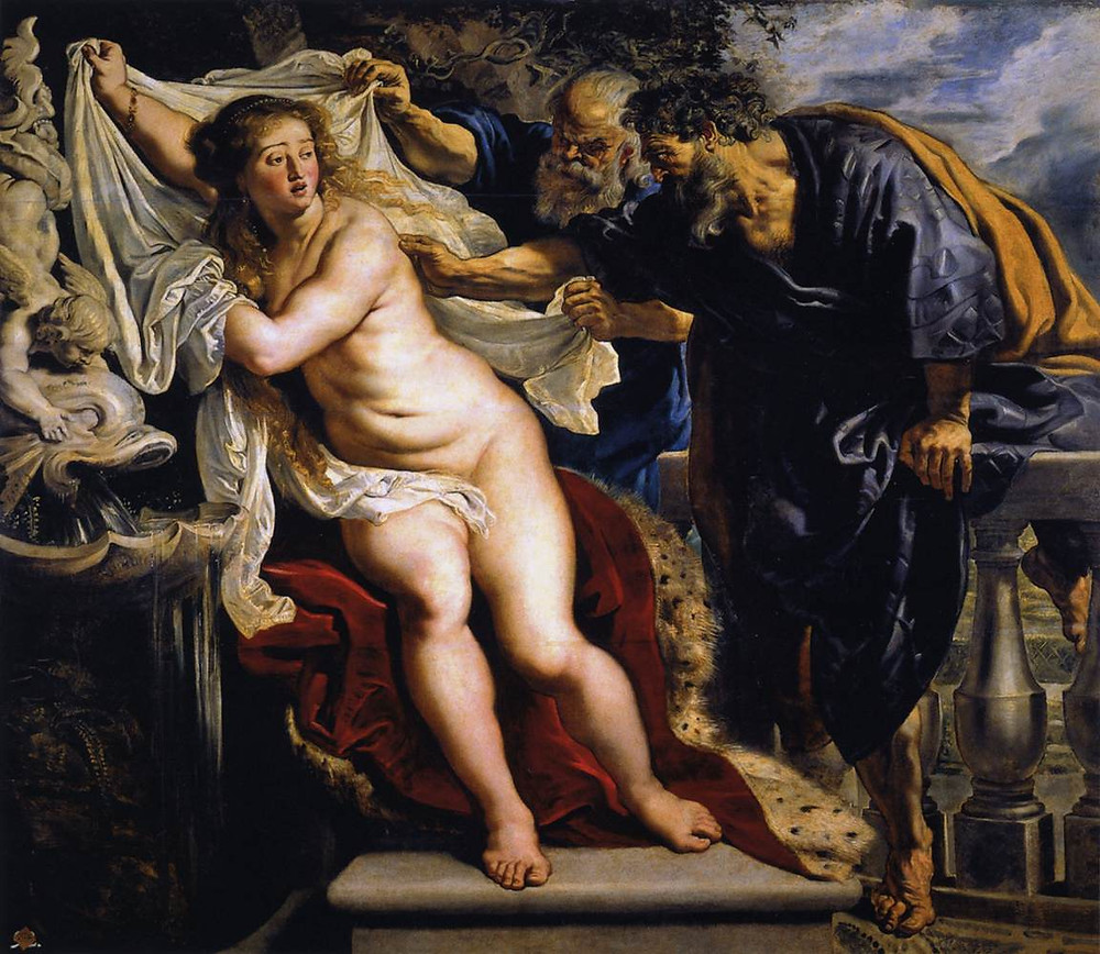 "Rubens, ""Susanna and the Elders"""