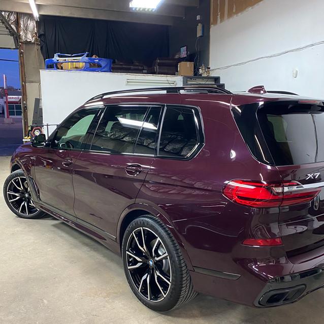 BMW X7 Ceramic Coating