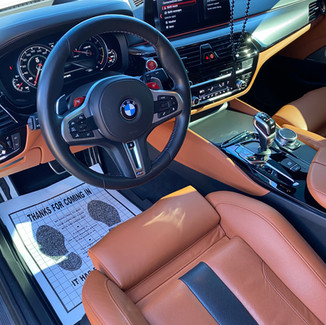 BMW M5 Detail