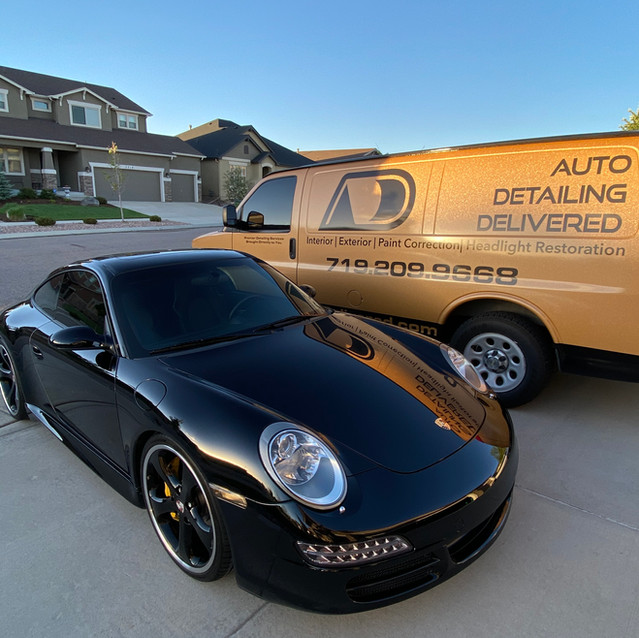 Porsche 911 Turbo Paint Correction