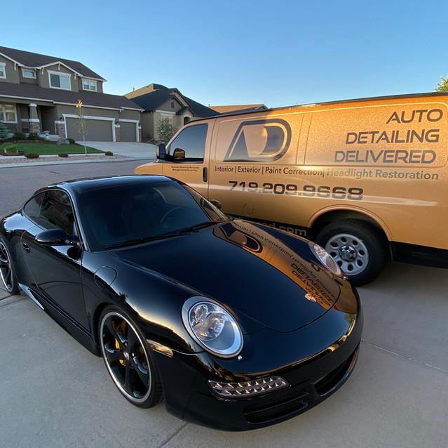 Porsche 911 Turbo Paint Correction