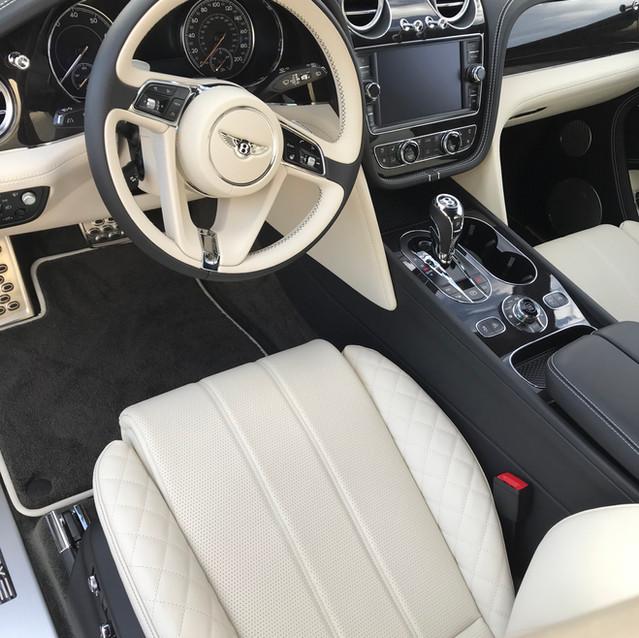 Bentley Bentayga Interior Detail