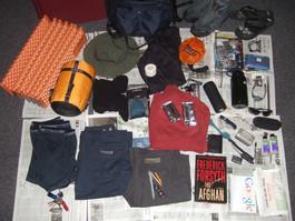 Shipping Camping Gear overseas