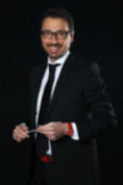 Francesco Grassini directeur artistique de l'Orchestre d'Harmonie du Pays de gex