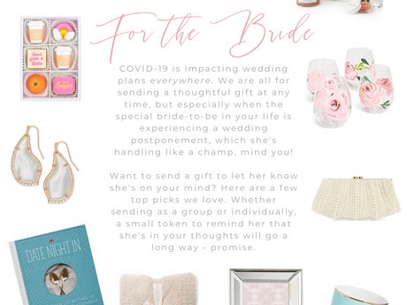 Gifting For the Bride Impacted by COVID-19