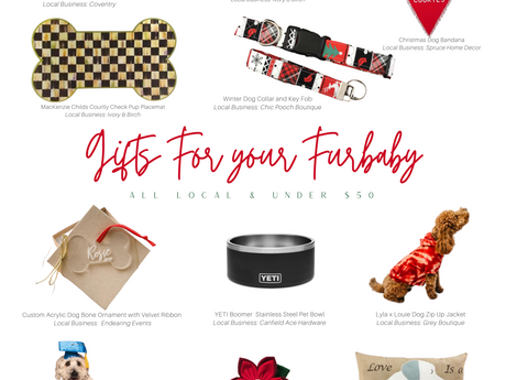 Gift Guide #1: Spoiling Your Furbaby