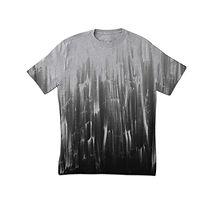 Sucio de la impresión de la camiseta