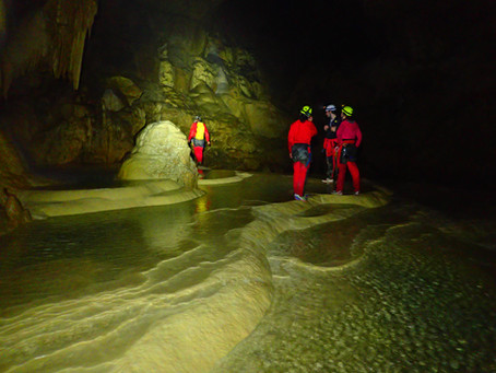 Grotte de Gournier : Salle Chevallier