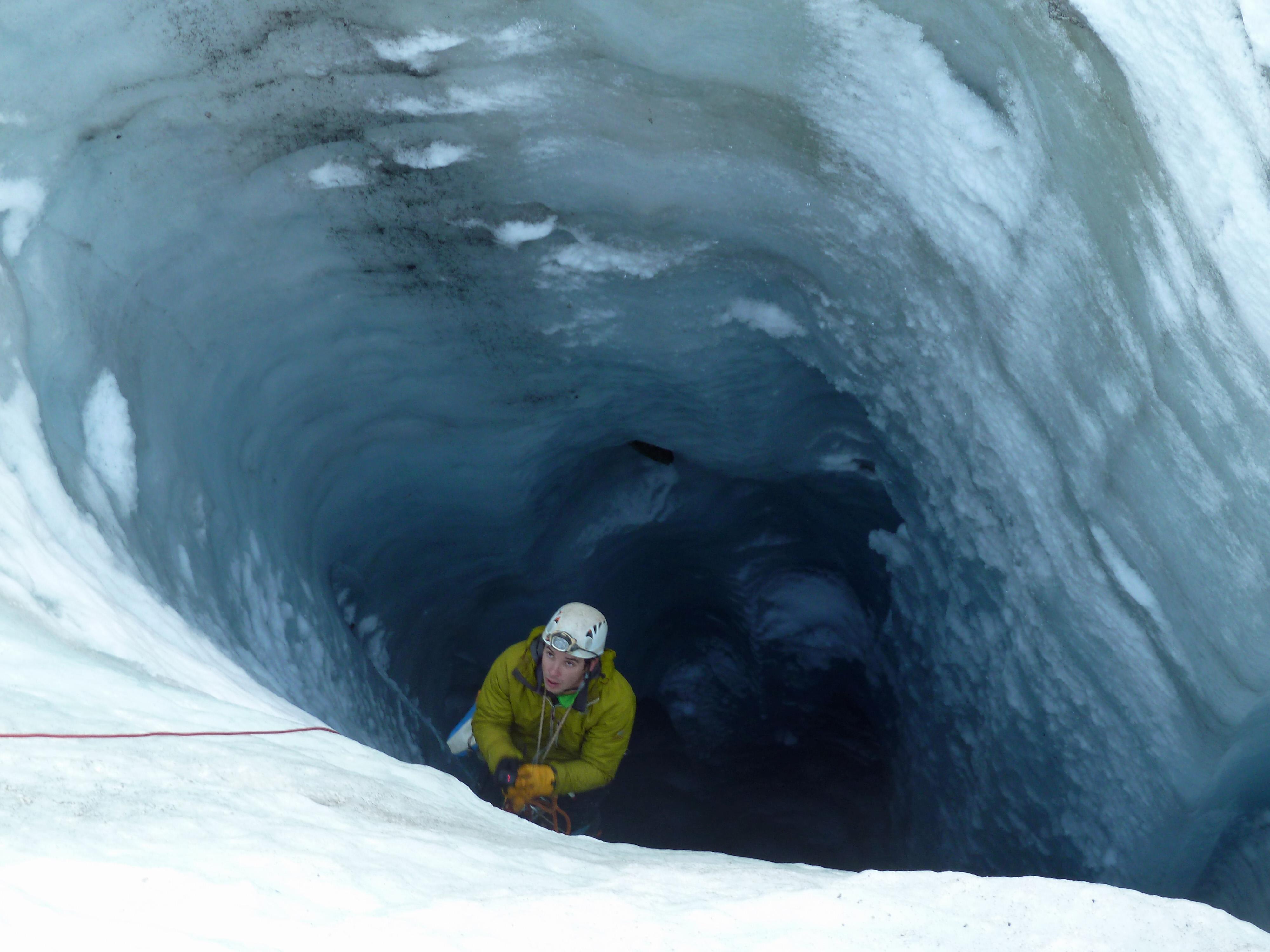 Spéléologie Glaciaire