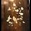 Thumbnail: Panneau de bois incrusté de nacre et ivoire : fleur et oiseaux, fin XIX