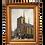Thumbnail: Ancienne Huile sur panneau signée G Dupuy  à Locronan Bretagne