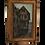 Thumbnail: tableau ancien huile sur panneau époque XIX ème Rouen Normandie