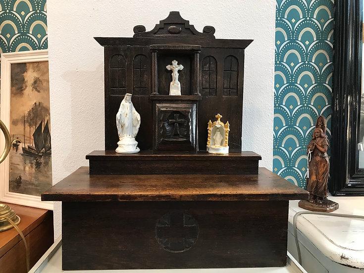 Partie de retable ou autel début du XIX ème siècle