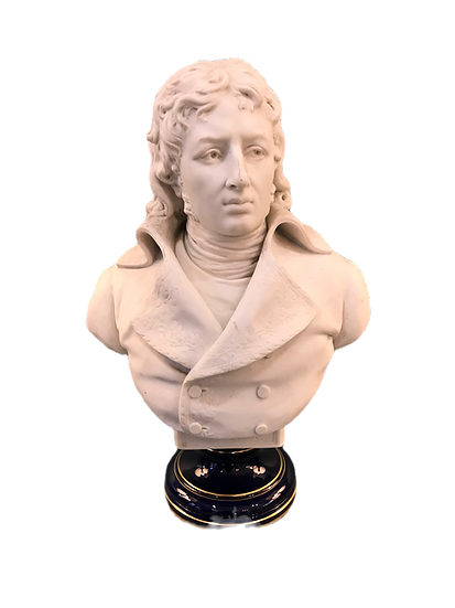 Magnifique et ancien buste du général DESAIX en biscuit de Sèvres époque XIX