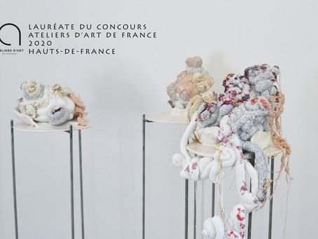 Lauréate régionale du Concours Ateliers d'Art de France