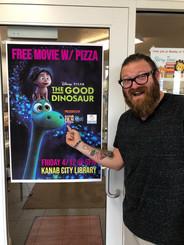 Jeff promoting Kid's Night