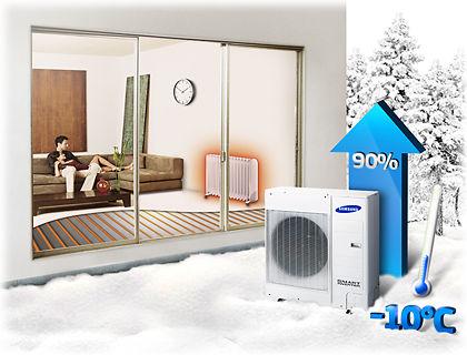 Tepelné čerpadlo Samsung EHS