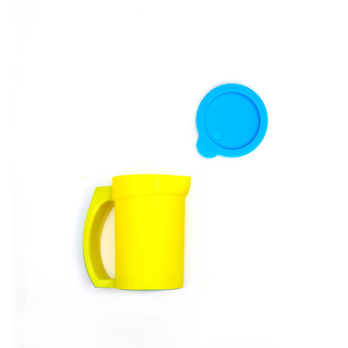 Eatwell anti-tipping & slipping cup in Yellow