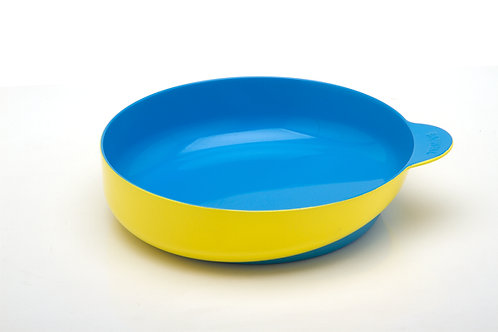 Eatwell slant-bottomed bowl in Yellow