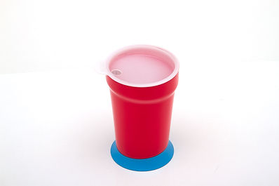 Eatwell assitive dinning ware se, including an anti-tipping cups with a cup lid