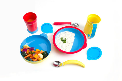 8-piece Eatwell assistive tableware set