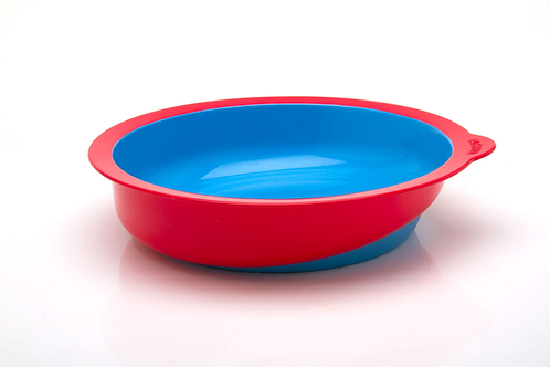 Eatwell slant-bottomed bowl in Red