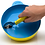 Thumbnail: 4-piece Eatwell assistive tableware set in Yellow