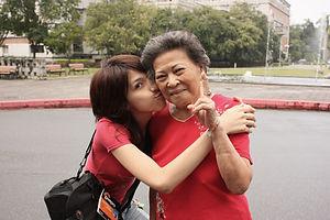 Alzheimer's inspiration, grandma and me