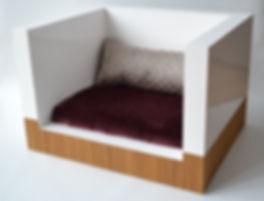 lit pour chien modèle le Cozy par Huve collection