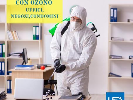 Perché scegliere di sanificare con l'ozono?