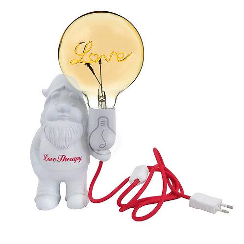 NIÑO WHITE LOVELY – LAMPADA DA TAVOLO IN CERAMICA – NANO LOVE THERAPY – LAMPADI