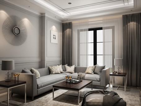 Idee per illuminare un soggiorno moderno