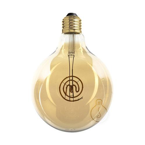 Lampadina led globo E27 filamento logo masterchef dimmerabile a luce caldaLampa