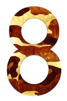 '8' series_Gold Camo