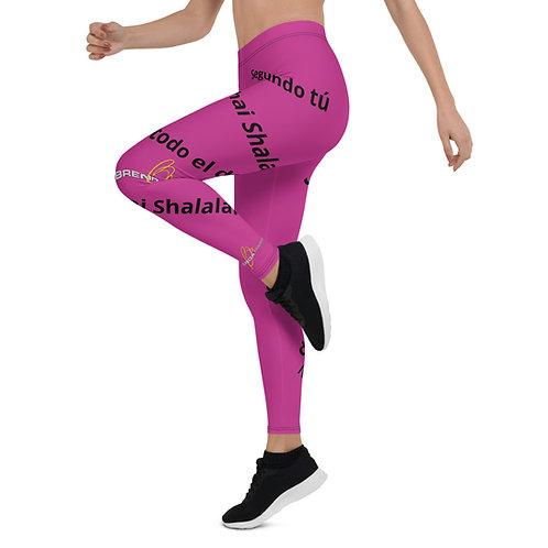 Pink Leggings Narcisista