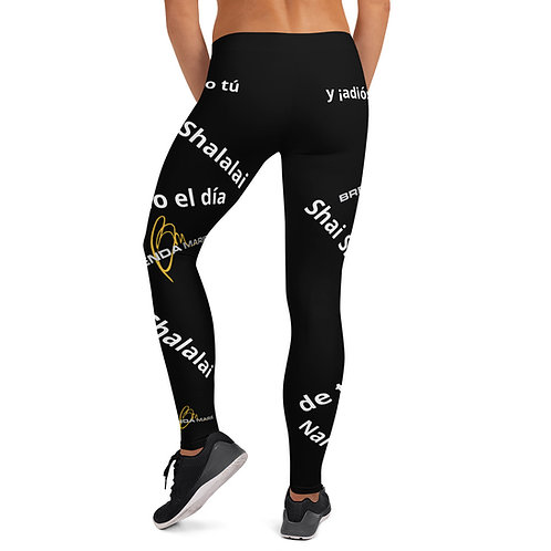 "Black ""Narcissistic Leggins"