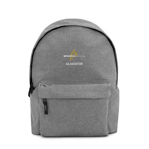 Embroidered Backpack (Gladiator)