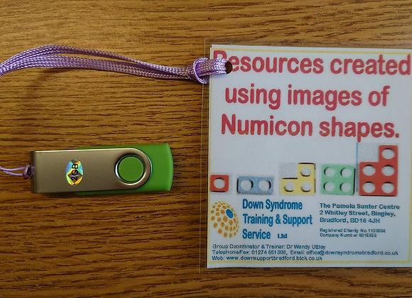 Numicon resources (pdf)