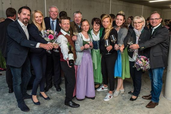 Eröffnungsfeier Tscherne-Strauss