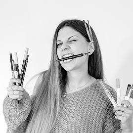 Grafikerin Christina Schorer