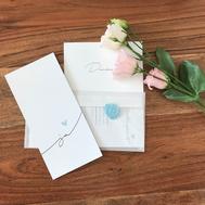 Hochzeitskarten mit Siegel