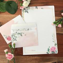 Briefpapier mit Umschlag