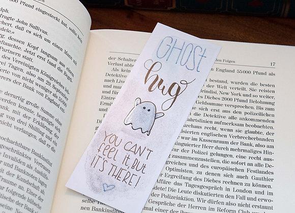 Lesezeichen Ghost Hug