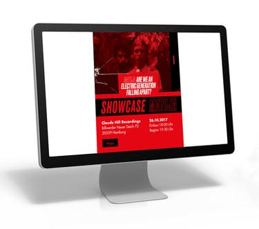 Show Case Online Einladung