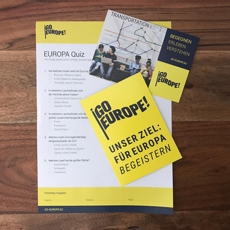 GoEurope Postkarten & Quiz