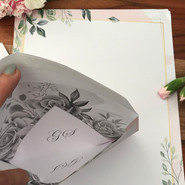 Umschlag von Innen bedruckt